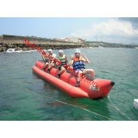 Cheap inflatable water games flyfish banana boat for sale