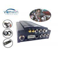 Cheap Vehicle Wifi G - Sensor 3g Mobile Dvr For Buses , 4 Channel Car Dvr Wide Angle Camera for sale