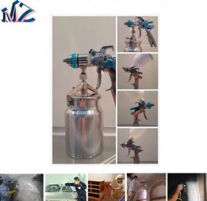 China 1000ML Aluminum Cup HVLP Air Paint Spray Gun on sale
