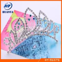 China alloy party crown wedding crown on sale