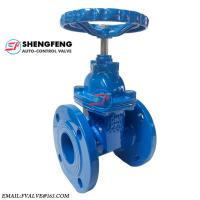 Quality ANSI 150 Cast Iron Metal Seal Rising Stem Flange Gate Valve wholesale