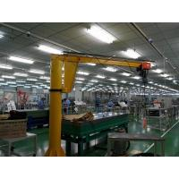 Cheap Free Standing 3ton Dual Speed Electric Jib Crane With Chain Hoist for sale