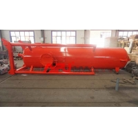 China API Drilling Fluids Poor Boy 1400mm Mud Gas Separator on sale