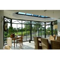 Cheap Powder Coating Glass Enclosed Sunroom For Patios And Residence CE Certificate for sale