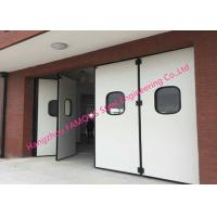 Cheap Aluminum Seal Accordion Doors Multi Panels Hinged Industrial Garage Doors Folding For Warehouse for sale