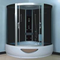 Cheap Shower Room with 5mm Tempered Glass and Aluminum Alloy Frame for sale