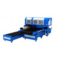 Cheap 1500w 3 Phase CO2 Metal Laser Cutting Machine With Flat / Rotary Die Cutting wholesale