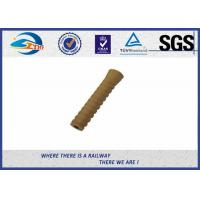 Quality SDU25 Model PA66 Plastic Dowel Plastic And Rubber Part For DHS35 Screw Spike wholesale