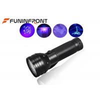 Cheap 51 Lamp 395NM UV LED Flashlight Detector for Currency, Fluorescent, Search Amber for sale