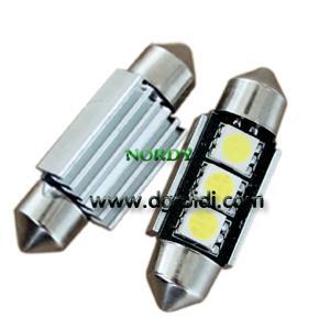 Cheap Led Festoon canbus light 3pcs 5050 SMD Auto led canbus 3W 39mm bulb for sale