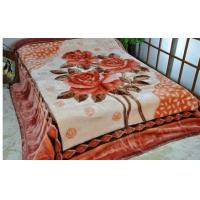 Cheap Soft 100% Acrylic Blanket Double Printed 200X230CM For Home / Hotel for sale