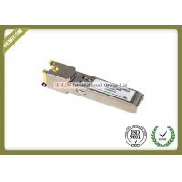 Buy cheap Small Form Pluggable Sfp Transceiver Module With Spring Latch 10base-T 100base Tx from wholesalers