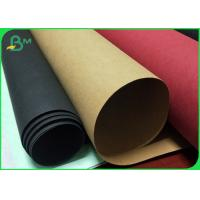 Cheap Moisture Proof Multicolor Washable Recycled Kraft Paper Roll For Plan Bag for sale