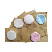 Cheap Heart Felt Bamboo Reusable Makeup Remover Pads With Absorb 2 Layer Microfiber for sale
