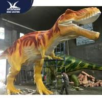 Cheap Vivid Life Size Professional Realistic Dinosaur Models For Museum Exhibits for sale