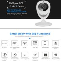 Cheap EC8 HD 720P Mini Wifi IP Camera Wireless P2P Baby Monitor Network Remote CCTV Surveillance DVR Camera Playback on App for sale