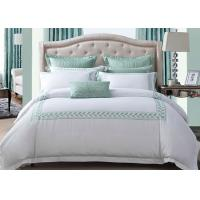 Cheap Simple Modern Bedding Sets 100% Cotton Embroidered With Twin / Queen / King Size wholesale