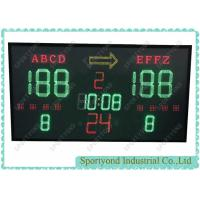 Cheap 1.8*0.95m LED Electronic Digital Basketball Scoreboard with Wireless Console for sale