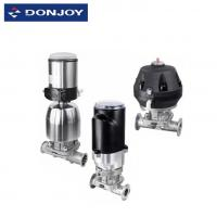 Cheap Position Sensor Pneumatic Diaphragm Valve With Forging Casting Stainless Steel 316L wholesale
