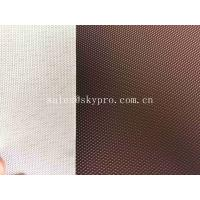 China Anti - Static 1.5mm PVC Conveyor Belt Red Diamond Patterned 0.8mm - 50mm Thickness on sale
