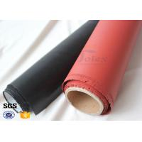 China 1400gsm Thermal Insulation High Silica Fabric with Silicone Rubber Coating on sale