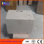 Cheap AZS 33 Zirconia Corudum Fire Clay Bricks For Glass Furnace , High Strength wholesale