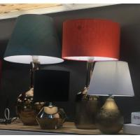 Cheap Metal color Ceramic Home Table Lamp for sale