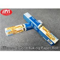 China Food Grade Silicone Treated Parchment Paper Virgin Wood Pulp Material Double Sides Coated on sale