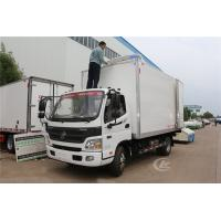 Cheap Foton Frozen Delivery Truck Refrigerated Box Truck 3 Ton 4.1 Meters Customized Color for sale