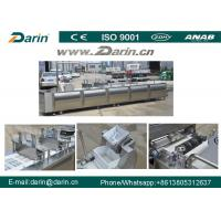 Cheap Peanut Candy Bar Maker Cutting Machine / Cereal Fruit Nut Bar Production Line wholesale