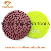 Cheap 3 Inch Wet Resin Bond Polishing Pads for Concrete Floor Grinders for sale