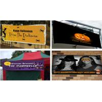 Cheap Flex Vinyl Banners halloween banners Printing Outdoor Signs for sale