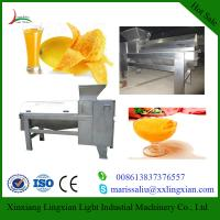 Cheap Full Automatic Mango Processing Equipment Mango destoner and beater for sale for sale