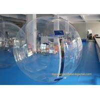 Cheap 2m Dia Inflatable Hamster Water Balls , Zorbing Bubble Runner Giant Walking Ball for sale
