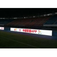 Cheap P 6mm Football Stadium LED Display , Indoor perimeter advertising boards SMD3528 for sale