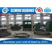 Cheap High Precision Slewing Ring Bearing Gear / Rings Quenching Heat Treatment wholesale