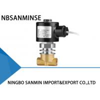 Cheap CO2 Liquid Steam Brass Solenoid Valve Normally Closed High / Low Temperature for sale