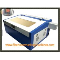 Cheap Step Motor Laser Wood Cutting Machine , 3D Wood Laser Cutting Machine For Metal Sheet for sale