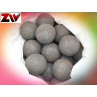 Cheap High Hardness Grinding Media Balls , Cement Plant Forged Grinding Steel Balls wholesale