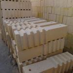 Cheap High alumina Furnace Bricks , 75% Al2O3 content refractory Anchor brick for sale