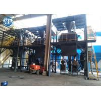 Cheap Tile Adhesive / Tile Glue Mixing Dry Mortar Production Line PLC Control for sale