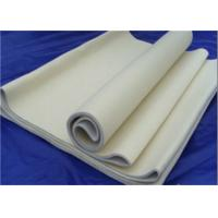 Needle Industrial Felt Fabric 48m Length 2400gsm Weight For Cement Industry