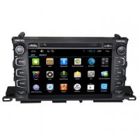 Cheap Android 4.4 Car Gps In Car Video System Toyota Highlander 2015 DVD Player for sale