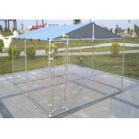 Buy cheap 4' x 6' x 6' /1.2m x 1.8m x 1.8 m outdoor chain link wire dog kennel DIY from wholesalers