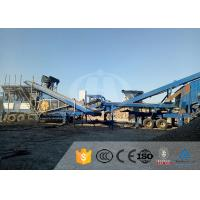 Cheap Stone Rock Mobile Mining Crusher High Chassis Mobile Stone Crusher Machine for sale