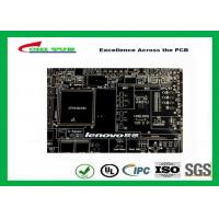 Buy cheap Black Solder Mask Multi Layer PCB FR4 TG150 for Lenovo Circuit Board from Wholesalers