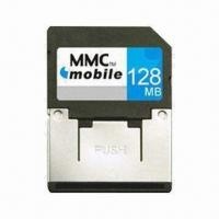 Cheap MMC Card, 1.8 and 3.3V Dual Voltage and 7Mbps Reading Speed, for Mobile Phones/PDA/Digital Cameras for sale