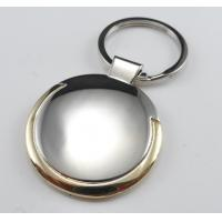Cheap cheap personalized promotional key chains gold plated for sale