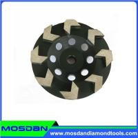 Cheap Cup shaped diamond grinding wheel with arrow segment for sale