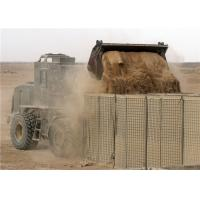 China Heavy Duty Military Hesco Barriers / Hesco Blast Wall Barrier For Army on sale